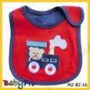 bibs with embroidered