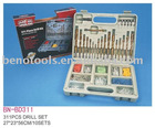 BN-MD311pc high-grade twist drill bit set
