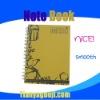 Fashion spiral agenda notebook-new arrivel
