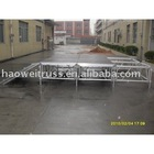 2010 Aluminum T-stage Mobile/ Movable Exhibition Stage Stadium Display Equipment