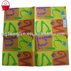 colorful printing wrapping paper