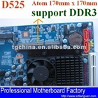 mini itx motherboard D525 support 1333Mhz DDR3