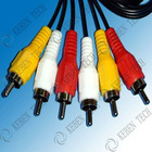 3 rca to 3 rca video cables