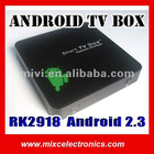 Hot Sale Android TV Box Rockchip RK2918 Android 2.3 HDMI (iTV02)