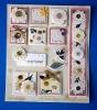 DIY handmade 3D stick-on decoration card sticker (2591)
