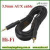 3.5mm male audio aux stereo jack cable