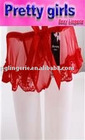 red charm sexy lingerie g-string, lady sexy g-string