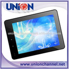 8 inch TFT LCD Five point Capacitive touch screen/Dual Camera/Built in 3G Tablet PC