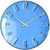 Dia 30cm tempered glass wall clock(Green pattern )