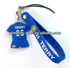 3d mascot mobile phone straps for promotion