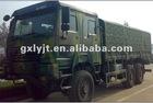 sintruck 6x6 howo all wheel drive lorry ZZ2257M3857C1