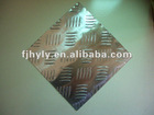A3105 aluminium checkered plate (5 bar)