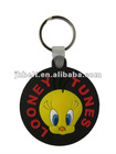 soft pvc keychains for gift,round rubber key chain,pvc keychain machine
