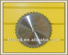 Thin Kerf Anti-Kick-Back teeth tct circular saw blade for hardwood cutting/table circular saw blade