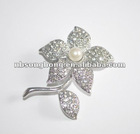 2012 flower brooch pin rhinestone brooches