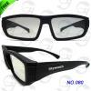 Free send sunglasses Promotion glasses Square circular polarized 3D TV GLASS