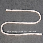white and colour twisted polyester rope 0.5---10mm