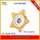 1pcs 1W hight bright E27 China led light with CE,ROSH,FCC