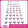 Latest fashion heart pearl sticker