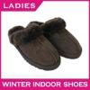 Australia double face sheepskin slipper warm indoor slipper Hot leather slipper