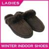Australia double face sheepskin slipper warm indoor slipper Hot leather slipper