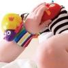 Free Shipping 10pcs baby rattles Lamaze Wrist Rattles,Toddler Infant Plush toys
