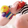 Free Shipping 10pcs baby rattles Lamaze Wrist Rattles,Toddler Infant Plush toys