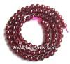 Natural 10mm garnet Gemstone beads GGB0014