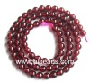Natural 10mm garnet Gemstone beads GGB0014