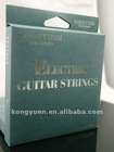 hot electric guitar strings