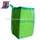 Green PP woven garbage bag