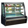 Front Sliding Curve Door commercial cake showcase