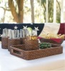GH-ST-49, Wicker Rattan Tray, Rattan Outdoor Furniture