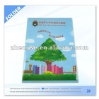 Promotional custom plastic folder