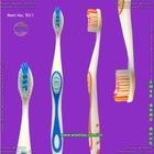 Wave bristle toothbrush