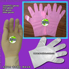 clean room disposable PE gloves