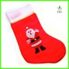 High Quality Christmas Santa Sock With Distinctive Pattern
