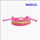 New Spain London Friendship Silk Woven Bracelet