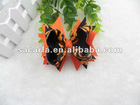 """4.5"""" Boutique Layered Spikes Halloween Girl Hair Bow Wholesale"""