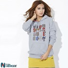 HOO001 Hot Sell Fashion Women Cheap custom hoodies sweatshirts