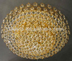 FOWDA Luxury of a crystal globe pendant light