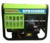 electric start fuel less gasoline power generators 10kw/kva