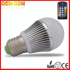 Hottest RGB LED Light Bulb 5W With Remote Controler