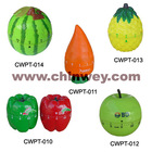 fruit kitchen timer as apple pineapple watermelon
