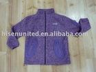 Children's melange Fleece Jacket