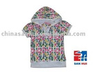 Colorful and funny printed 100% cotton girls T shirt