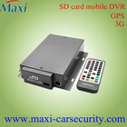 the newest SD car mobile &vehicle DVR with H.264 real time recording