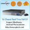 H.264 16ch High resolution full D1 CCTV standalone DVR,CBVS,VGA, HDMI output