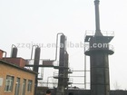 waste oil recycling plant under construction
