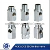 stainless steel 3 way connector